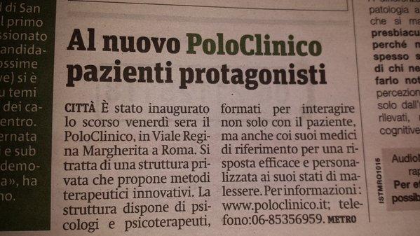 metro articolo poloclinico
